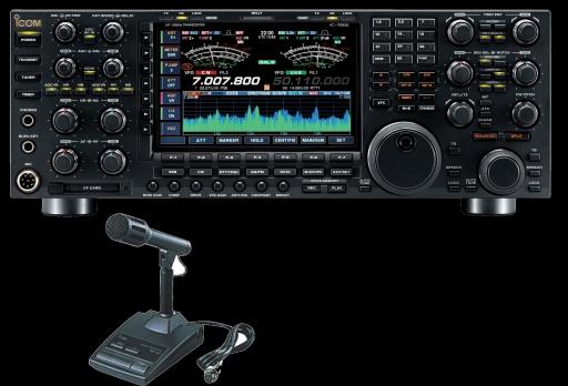 IC-7800+SM-20